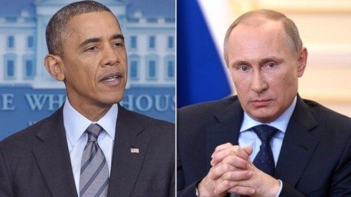 Putin, Obama discuss resolution to Ukraine's crisis - ảnh 1