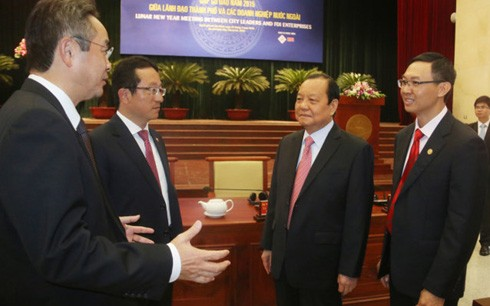 FDI enterprises want Ho Chi Minh city to improve infrastructure  - ảnh 1