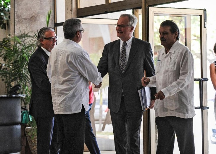 Cuba and EU content with negotiation to normalize ties - ảnh 1