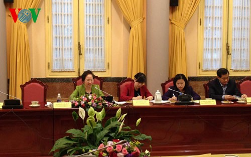 Vice President chairs meeting of Vietnam Children Patronage Fund Council - ảnh 1