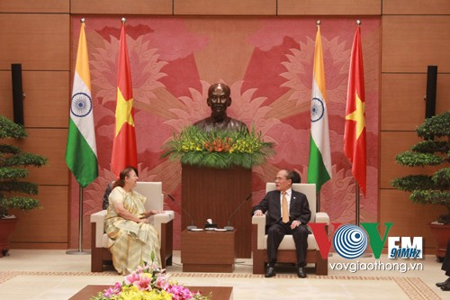 National Assembly Chairman receives Speaker of India's Lower House - ảnh 1