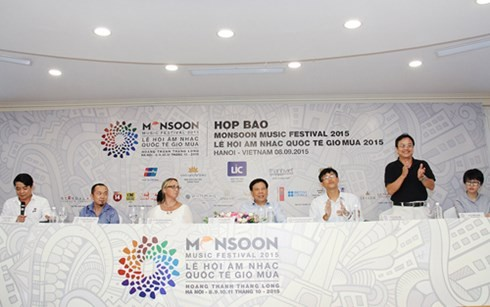 2015 Monsoon Music festival to he held in Hanoi - ảnh 1