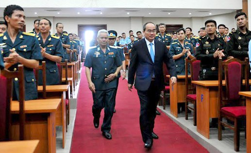 Vietnam Air and Air Defense Forces Academy starts new school year - ảnh 1