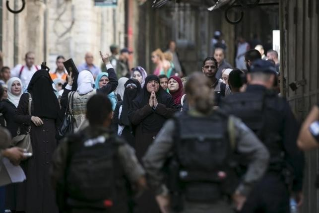 Clashes between Israel police and Muslims in Jerusalem enter third day - ảnh 1