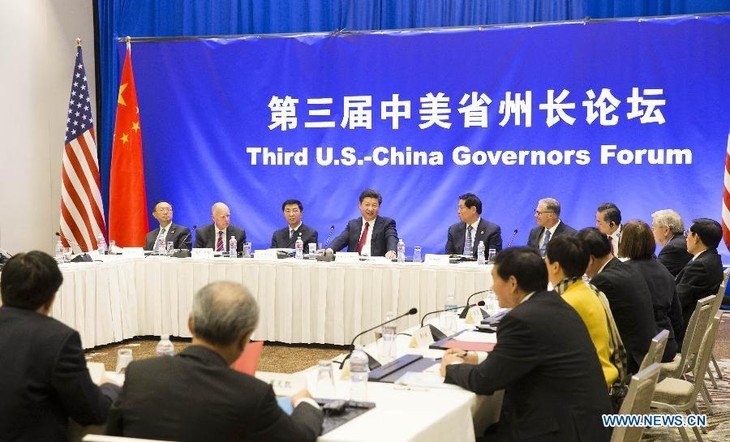 Chinese President calls on China, US to enhance local cooperation - ảnh 1