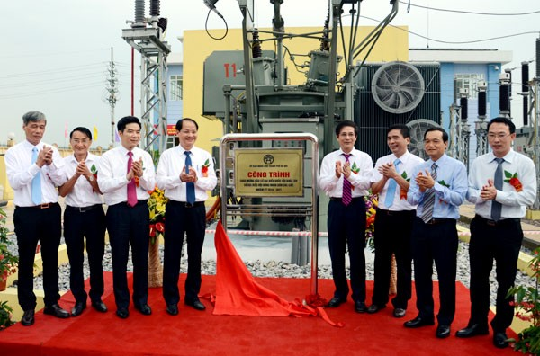 Noi Bai airport gets new transmission system and associated transmission line  - ảnh 1