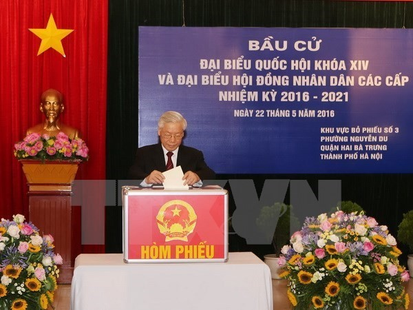 Foreign media highlight Vietnam's general election - ảnh 1