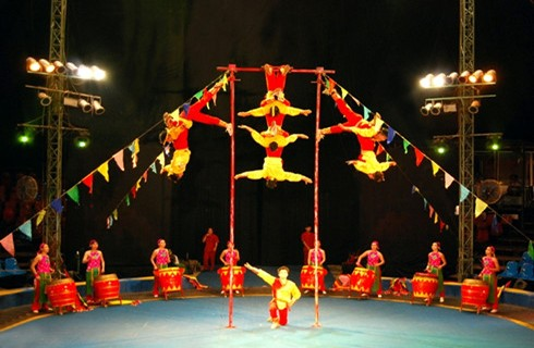 International Circus Festival 2016 opens - ảnh 1