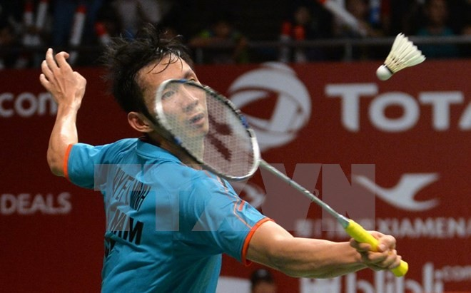 Olympic Rio 2016: Tien Minh loses to Lin Dan during men's singles group match of badminton - ảnh 1