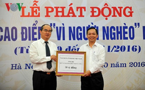 2016 Month for the Poor launched - ảnh 1
