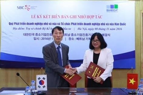 Vietnam, RoK funds cooperate in SME development - ảnh 1