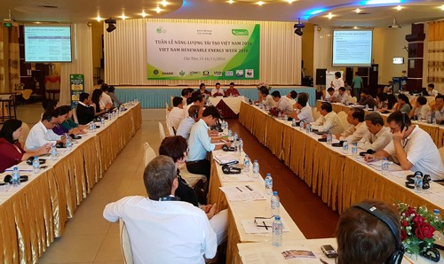 2016 Vietnam Renewable Energy Week opens in Can Tho  - ảnh 1