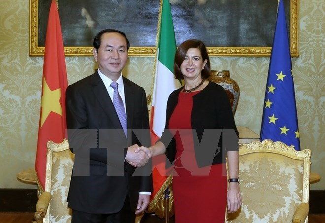 Italy, Vietnam foster strategic partnership - ảnh 2