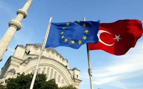European Parliament votes to freeze EU membership talks with Turkey - ảnh 1