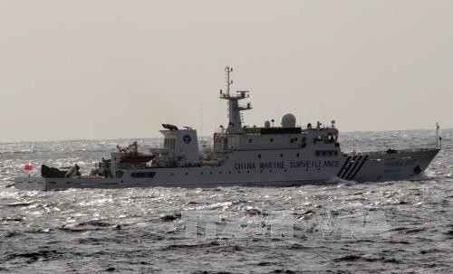 Chinese patrol vessels detected in East China Sea - ảnh 1