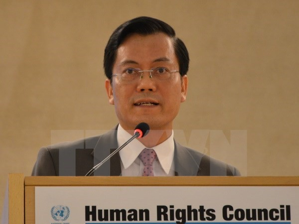 Vietnam highlights its contributions to global human rights initiatives - ảnh 1