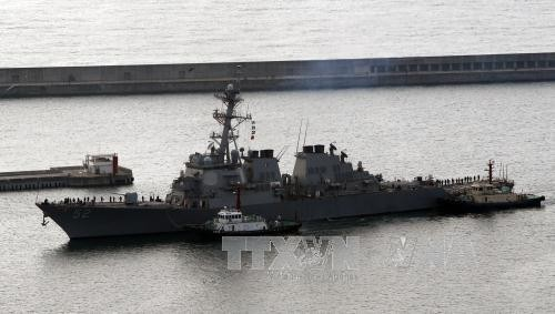 South Korea, US hold joint naval drills - ảnh 1