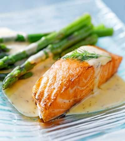 Salmon with almond sauce - ảnh 2