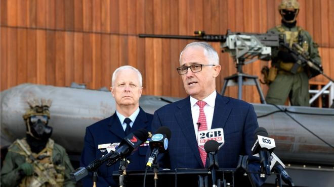 Australia seeks to expand role of military in domestic terror threats - ảnh 1