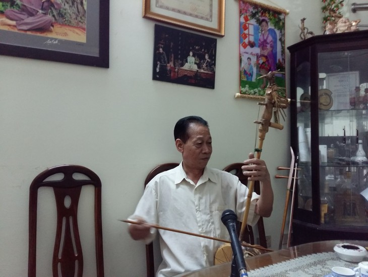 People's Artist Xuan Hoach and his devotion to folk music - ảnh 1