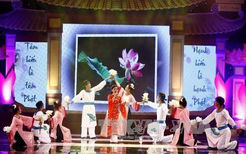 Art exchange marks Vu Lan festival - ảnh 1