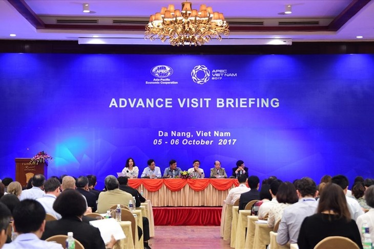 APEC representatives inspect Summit venues - ảnh 1