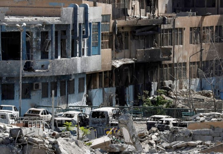 Syrian civilians likely to become human shields for IS - ảnh 1