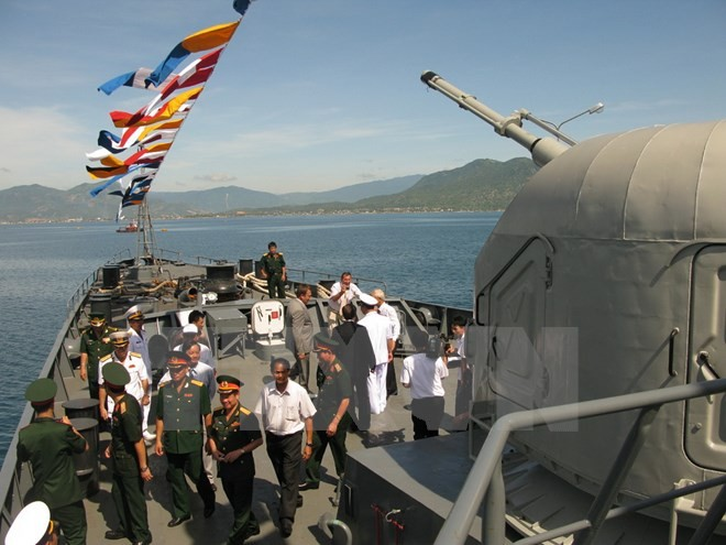 Vietnamese navy joins first ASEAN multilateral naval exercise - ảnh 1