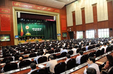 Quốc hội thảo luận về Luật khoa học và công nghệ (sửa đổi)  - ảnh 1