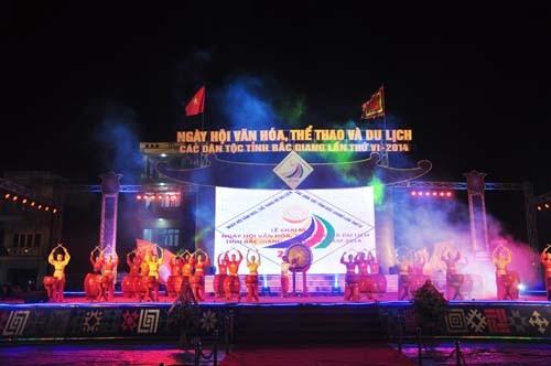Đặc sắc Ngày hội văn hóa, thể thao, du lịch tỉnh Bắc Giang  - ảnh 1