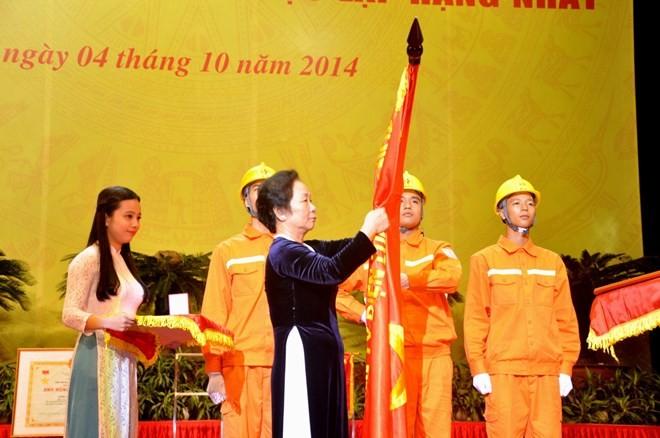 Kỷ niệm 45 năm thành lập Tổng công ty điện lực miền Bắc - ảnh 1