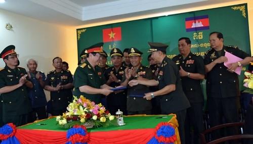 Khánh thành trụ sở Viện lịch sử quân sự Campuchia - ảnh 1