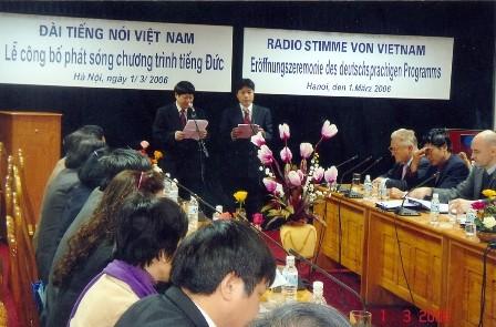 Chương trình Phát thanh tiếng Đức: nhịp cầu hữu nghị Việt Nam-Đức - ảnh 1