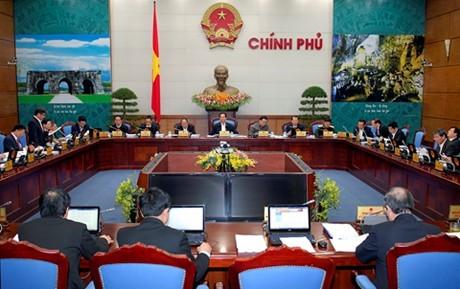 Thủ tướng Nguyễn Tấn Dũng chủ trì phiên họp Chính phủ thường kỳ tháng 1/2015  - ảnh 1