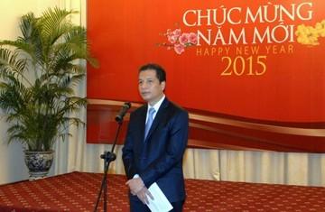 Gặp mặt đầu năm các phóng viên nước ngoài thường trú ở Việt Nam - ảnh 1