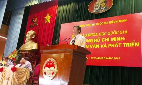 Hội thảo Tư tưởng Hồ Chí Minh- Giá trị nhân văn và phát triển - ảnh 1