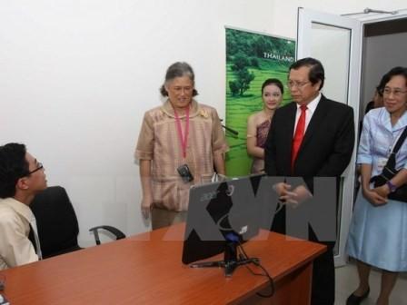 Công chúa Thái Lan thăm và làm việc tại Ninh Bình - ảnh 1