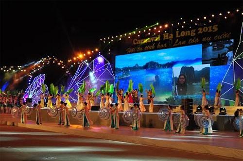 """Khai mạc Carnaval Hạ Long 2015 với chủ đề """"Hội tụ tinh hoa - Lan tỏa nụ cười"""" - ảnh 1"""