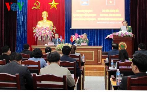 Đoàn đại biểu tỉnh Rattanakiri (Campuchia) sang thăm và làm việc với Ban Chỉ đạo Tây Nguyên  - ảnh 1