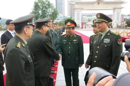 Hội đàm quốc phòng Việt Nam-Trung Quốc - ảnh 1