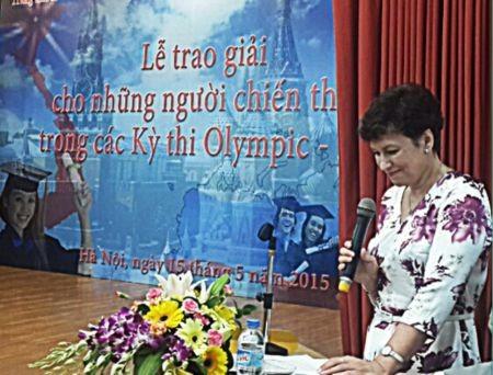 Trao giải Cuộc thi Olympic tiếng Nga và toán học cho học sinh, sinh viên Việt Nam năm 2015  - ảnh 1
