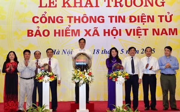 Khai trương Cổng thông tin điện tử Bảo hiểm xã hội Việt Nam - ảnh 1