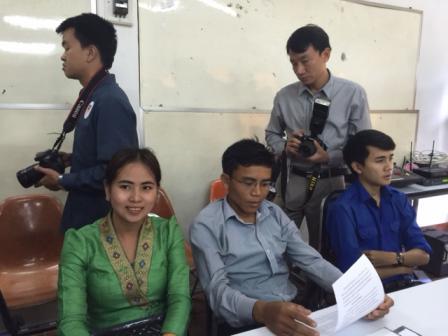 Việt Nam giúp Lào đào tạo kỹ năng nghiệp vụ báo chí  - ảnh 2