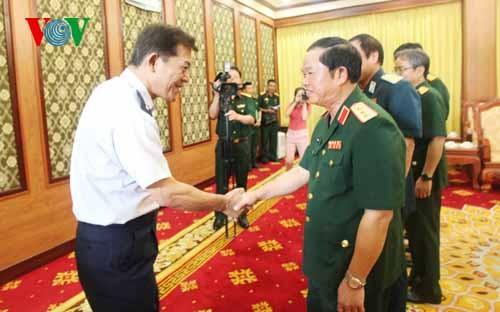 Tăng cường hợp tác giữa lực lượng Phòng không Việt Nam - Nhật Bản  - ảnh 1