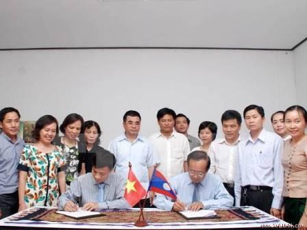 Việt Nam và Lào thúc đẩy chương trình dạy và học tiếng Việt  tại Lào - ảnh 1