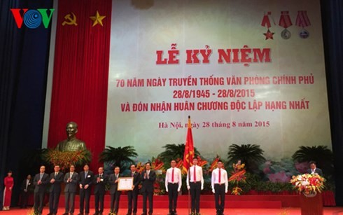 Lễ kỷ niệm 70 năm ngày truyền thống Văn phòng Chính phủ   - ảnh 1