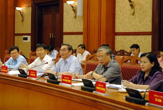 Hội nghị Tiểu ban Tổ chức phục vụ Đại hội XII của Đảng  - ảnh 1