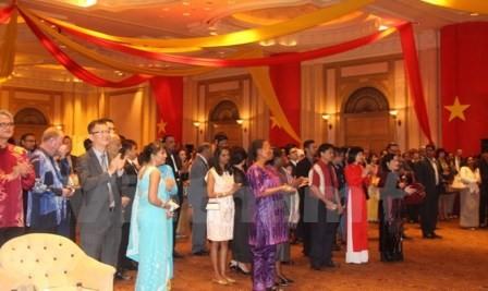 Kỷ niệm 70 năm CM Tháng Tám, Quốc khánh 2/9 và thành lập ngành Ngoại giao tại các nước - ảnh 2