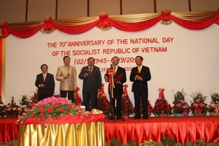 Hoạt động kỷ niệm 70 năm Cách mạng Tháng Tám và Quốc khánh 2/9 tại nhiều nước - ảnh 1