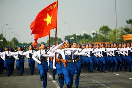 30 nghìn người tham gia Lễ kỷ niệm cấp quốc gia 70 năm cách mạng tháng Tám và Quốc khánh 2/9 - ảnh 2